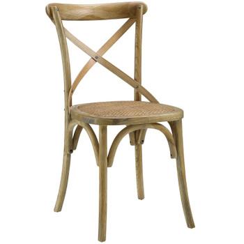 Gear Dining Side Chair EEI-1541-NAT