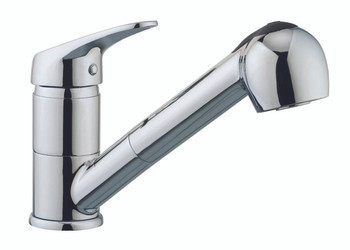Pull Out Kitchen Faucet In Brushed Nickel N88478-BN