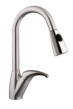 Pull Down Kitchen Faucet In Brushed Nickel N88485B1-BN