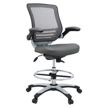 Edge Drafting Chair EEI-211-GRY Gray