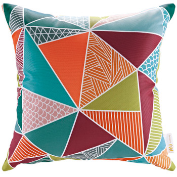 Modway Outdoor Patio Single Pillow EEI-2156-MOS Mosaic