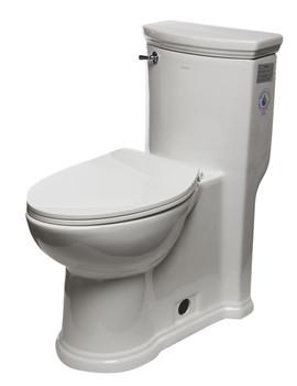 EAGO TB364 ADA Compliant One Piece Single Flush Toilet