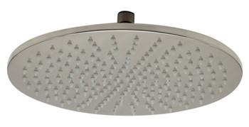 ALFI brand LED12R-BN 12 Inch Round Multi Color LED Rain Shower Head