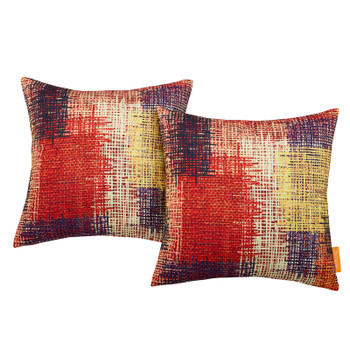 Modway Two Piece Outdoor Patio Pillow Set EEI-2401-PAT Patch