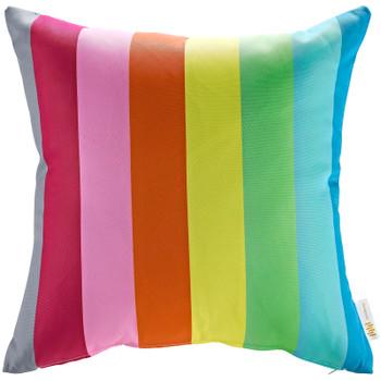 Modway Two Piece Outdoor Patio Pillow Set EEI-2401-RAN Rainbow