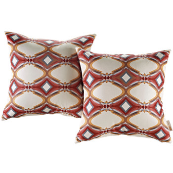 Modway Two Piece Outdoor Patio Pillow Set EEI-2401-REP Repeat