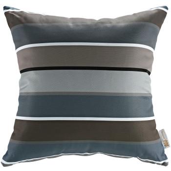 Modway Two Piece Outdoor Patio Pillow Set EEI-2401-STR Stripe