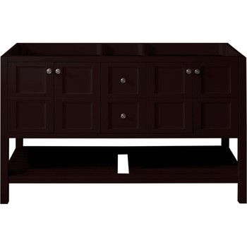 "Virtu USA Winterfell 60"" Cabinet Only in Espresso"
