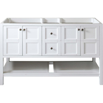 "Virtu USA - Avant Styles Winterfell 60"" Cabinet Only in White"