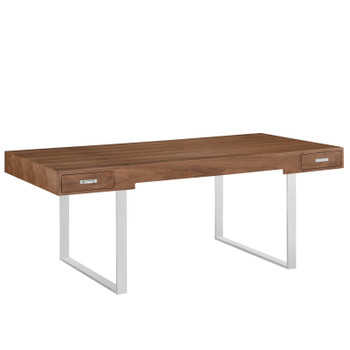 Tinker Office Desk EEI-293-WAL Walnut