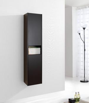 """Virtu USA ESC-621-ES Delmore 12"""" Linen Cabinet in Espresso"""