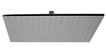 "ALFI brand LED16S-PC Polished Chrome 16"" Square Multi Color LED Rain Shower Head"