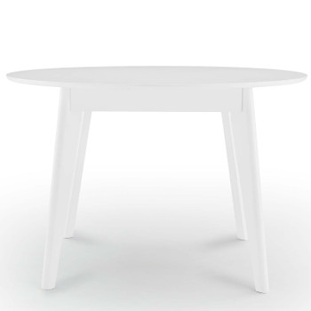 "Vision 45"" Round Dining Table EEI-3752-WHI White"
