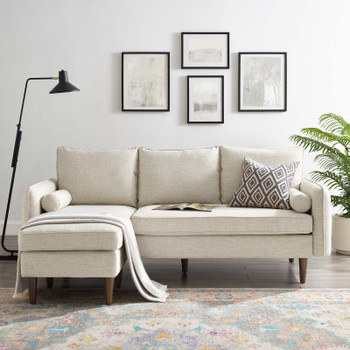 Revive Upholstered Right or Left Sectional Sofa EEI-3867-BEI Beige