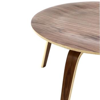 Plywood Coffee Table EEI-509-WAL Walnut