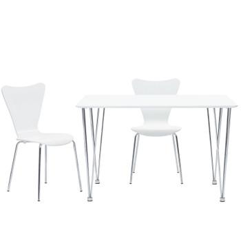 Ernie Dining Side Chair EEI-537-WHI White