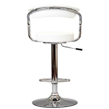 Diner Bar Stool Set of 2 EEI-930-WHI White