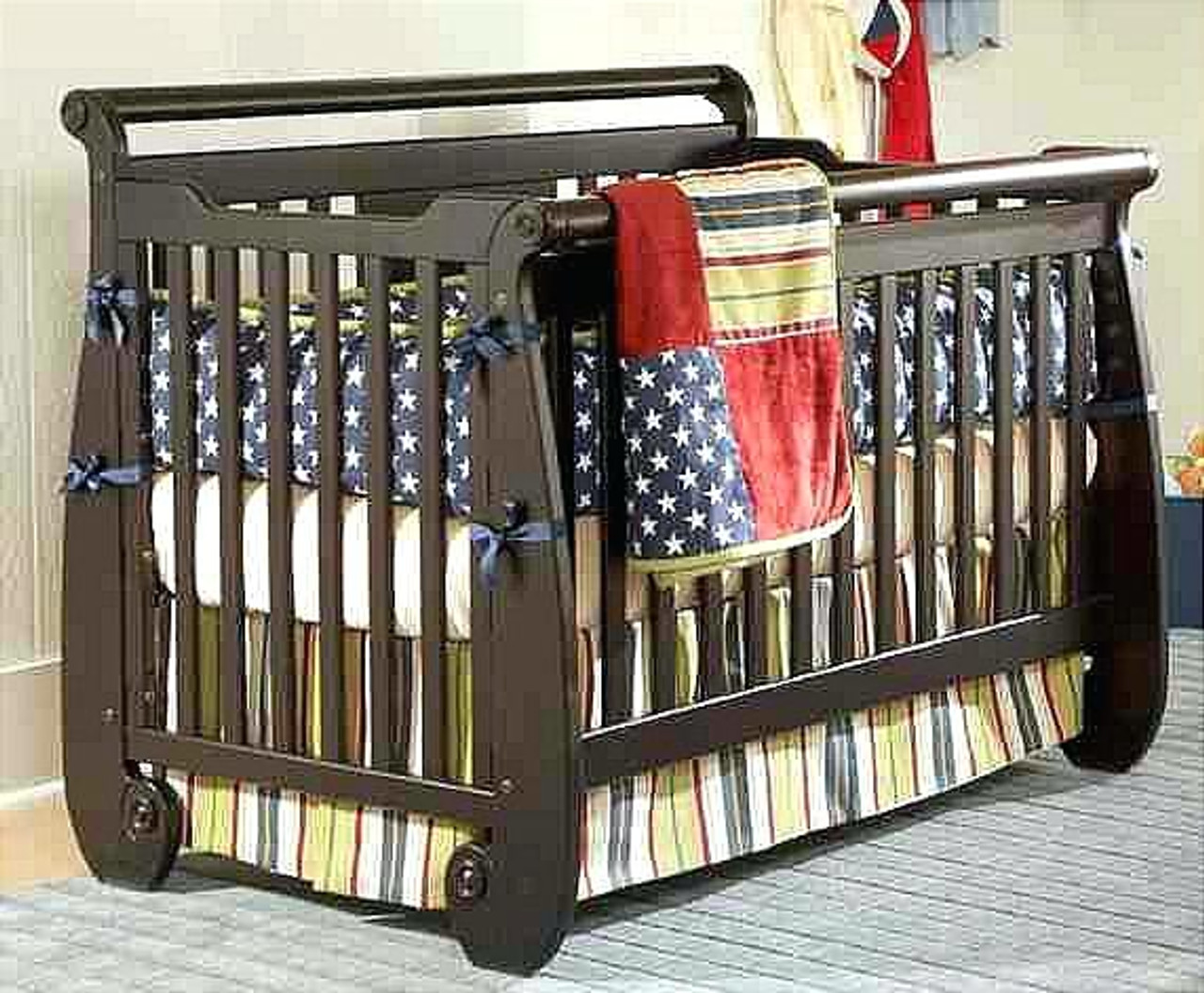 Groovy Serenity Convertible Crib Espresso Ibusinesslaw Wood Chair Design Ideas Ibusinesslaworg
