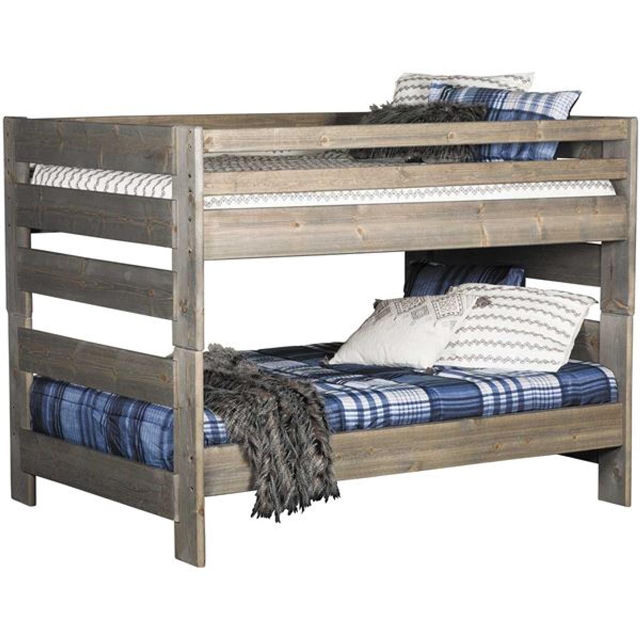 Picture of: Trendwood Bunkhouse Big Sky Full Full Bunk Bed Kids N Cribs