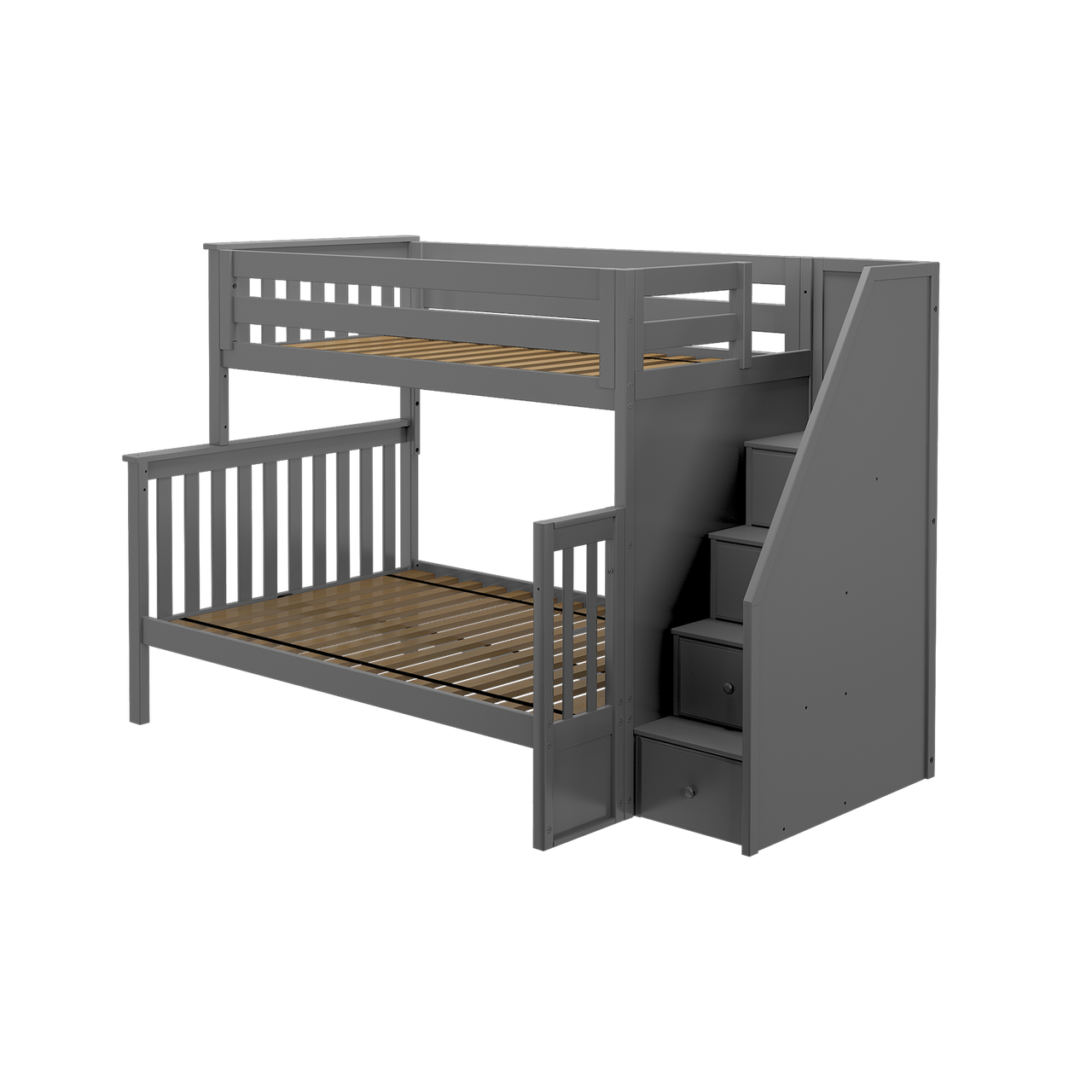 Jackpot Kids Sunderland T F Staircase Bunk Bed Kids N Cribs