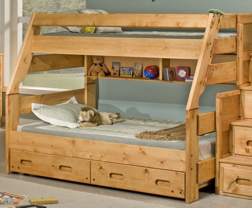 Trendwood Bunkhouse High Sierra Twin Full Bunk Bed Kids