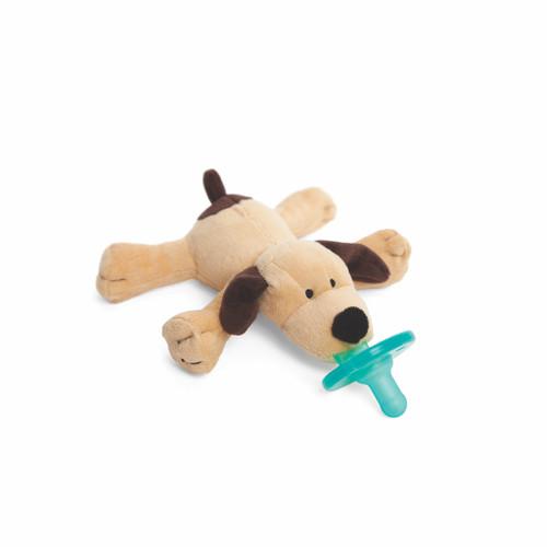 Wubbanub Brown Puppy Pacifier Kids N Cribs
