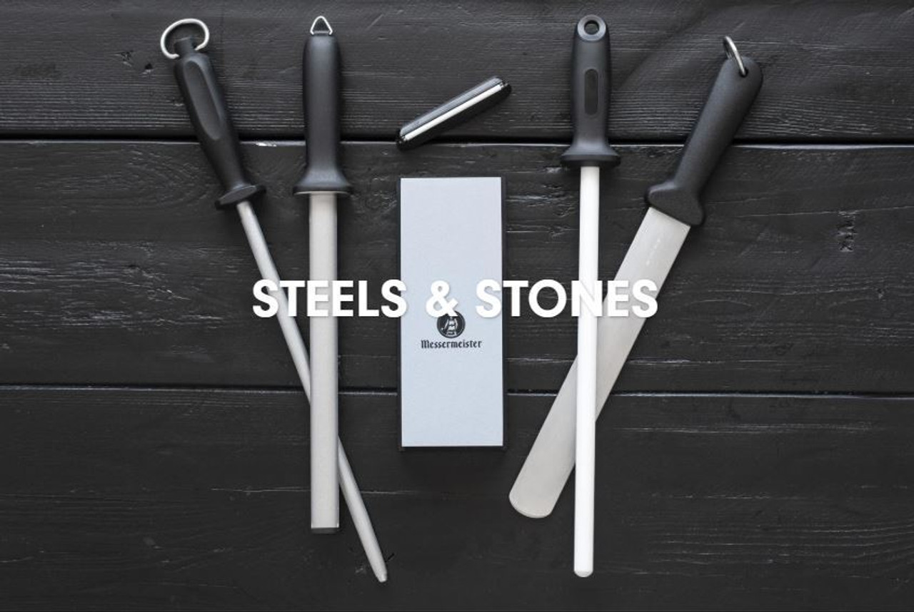 Steels, Stones & Accessories