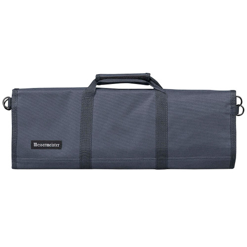Grey 12 Pocket Padded Knife Roll