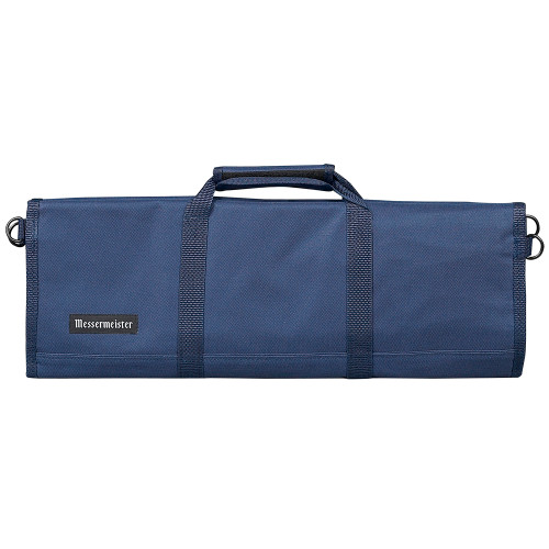 Navy 12 Pocket Padded Knife Roll