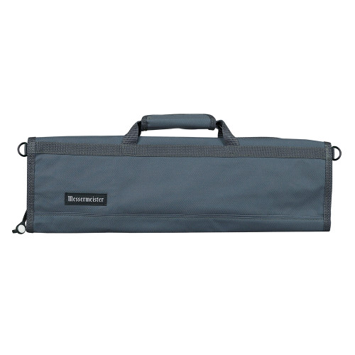 Grey 8 Pocket Padded Knife Roll