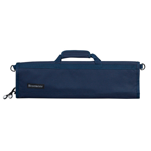 Navy 8 Pocket Padded Knife Roll