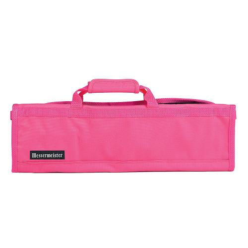 Pink 8 Pocket Padded Knife Roll