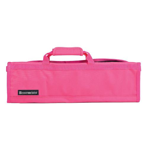 Pink 8 Pocket Padded Knife Roll