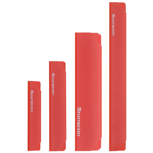 Translucent Red 4 Piece Edge Guard Set