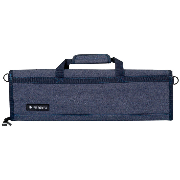 Blue Denim 8 Pocket Padded Knife Roll