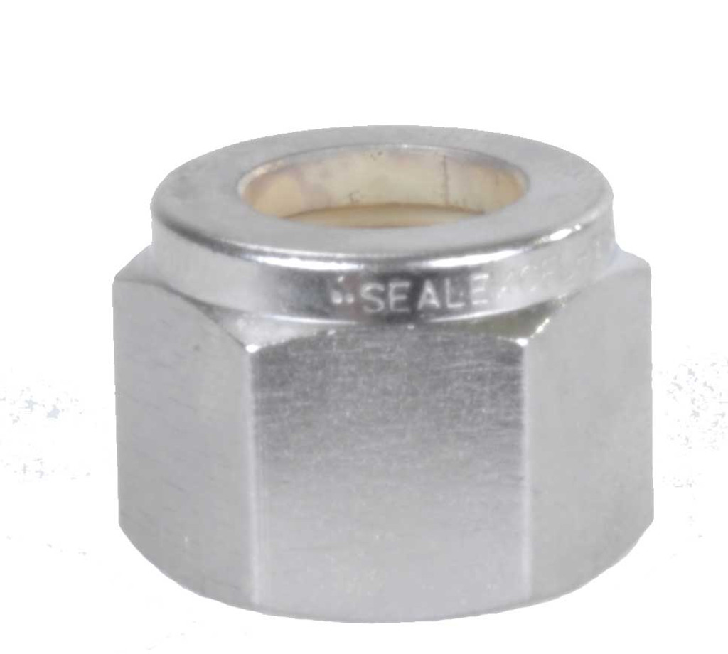 "Spectra 1/2"" Tube Stainless Steel Fitting Hex Nut"
