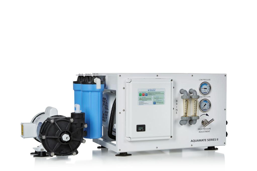 Aquamate Series II Framed 75 GPH Marine Water maker