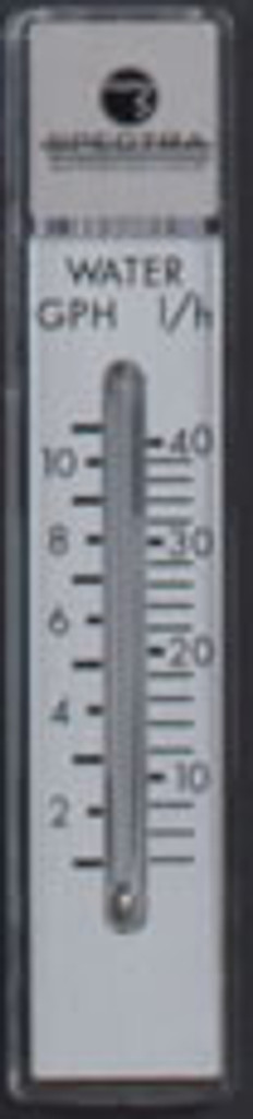 Spectra 10GPH Flow Meter