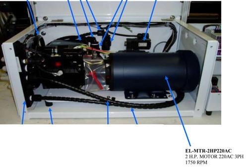 Spectra Farallon 1800/2800 2 H.P. Motor EL-MTR-2HP220AC
