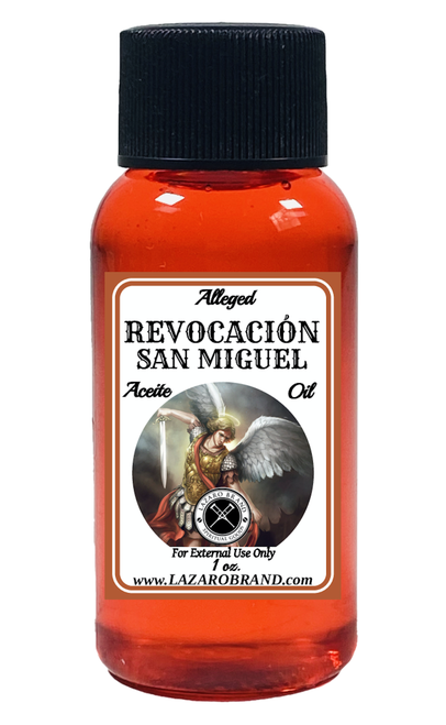 Archangel Saint Michael Revocation Revocacion San Miguel Spiritual Fragrance Oil To Fight Against All Evils & Protect Your Soul