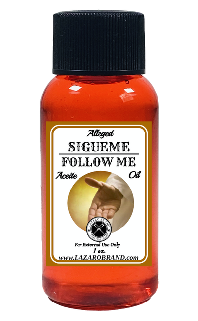 Follow Me Sigueme Spiritual Fragrance Oil
