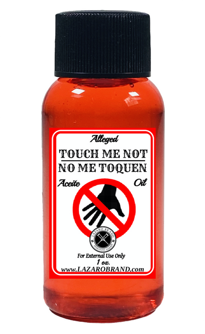 Touch Me Not No Me Toquen Potencias Spiritual Fragrance Oil