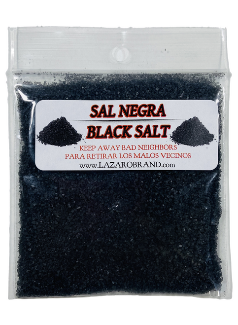 Black Salt For Protection Keep Away Bad Neighbors & Unwanted People (1oz)