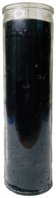Black 7 Day Prayer Candle For Separation, To Break A Spell,  Banish Evil, Protection, ETC.