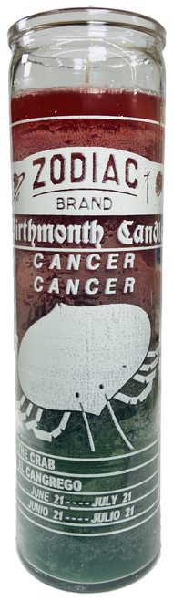 Cancer The Crab June 22 to July 22 Astrology Zodiac Sign 7 Day Prayer Candle