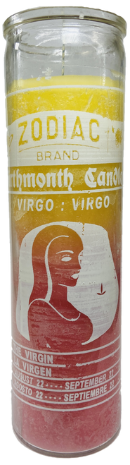Virgo The Virgin August 22 to September 23 Astrology Zodiac Sign 7 Day Prayer Candle