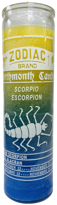 Scorpio The Scorpion October to November 22 Astrology Zodiac Sign 7 Day Prayer Candle