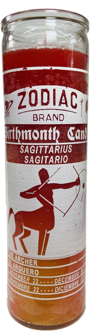 Sagittarius The Centaur November to December 22 Astrology Zodiac Sign 7 Day Prayer Candle