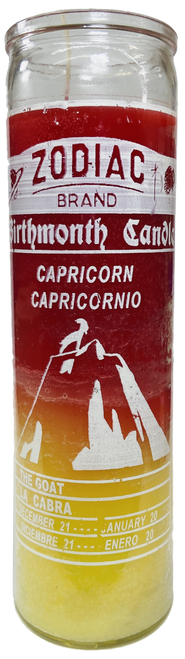 Capricorn The Goat December 23 to January 20 Astrology Zodiac Sign 7 Day Prayer Candle