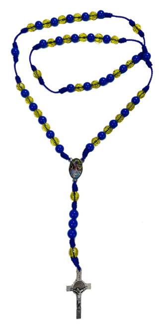 Orisha Ochosi Divine Hunter Spiritual Rosary Necklace For Goals & Justice (Version 1)